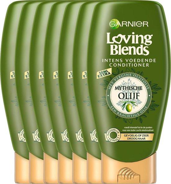 Garnier Loving Blends Conditioner - Mytische Olijf - Gevoelig tot Zeer Droog Haar - 6 x 250 ml - Voordeelverpakking