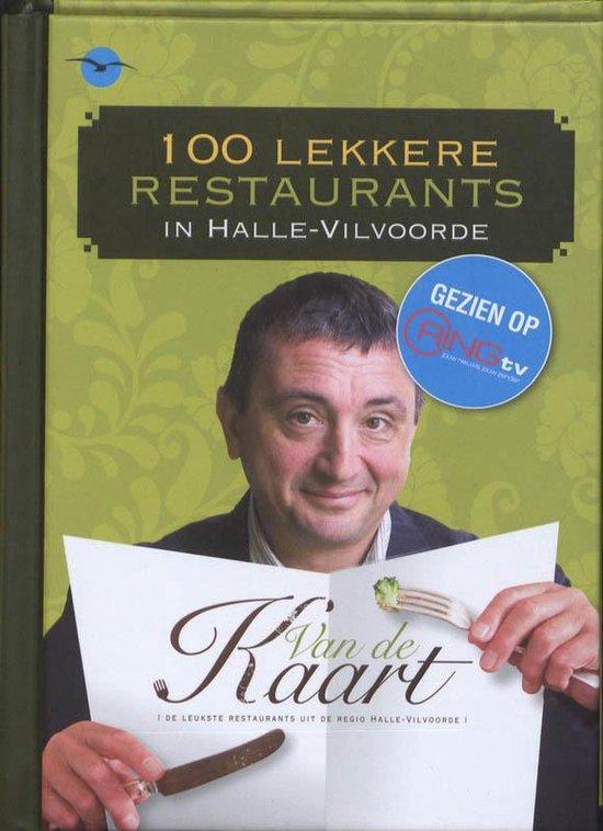Cover van het boek '100 lekkere restaurants in Halle-Vilvoorde' van Dirk de Mesmaeker