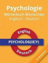 Psychologie Woerterbuch Wortschatz Englisch - Deutsch
