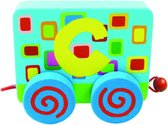 Tatiri Houten letter: treinalfabet c