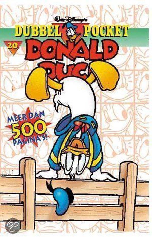 Donald Duck dubbelpocket 20 - Walt Disney Studio's  