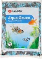 Flamingo Aquarium accessoire Grind voor Vissenkom - groen - 19 x 15 x 2