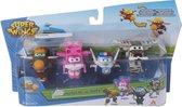 Super Wings Transform-a-bots 4pk (Todd&Dizzy&Paul&Bello)