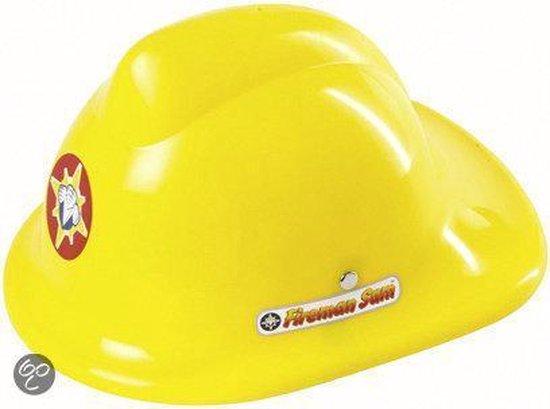Brandweerman Sam: Brandweerhelm met vizier (geel) | BS