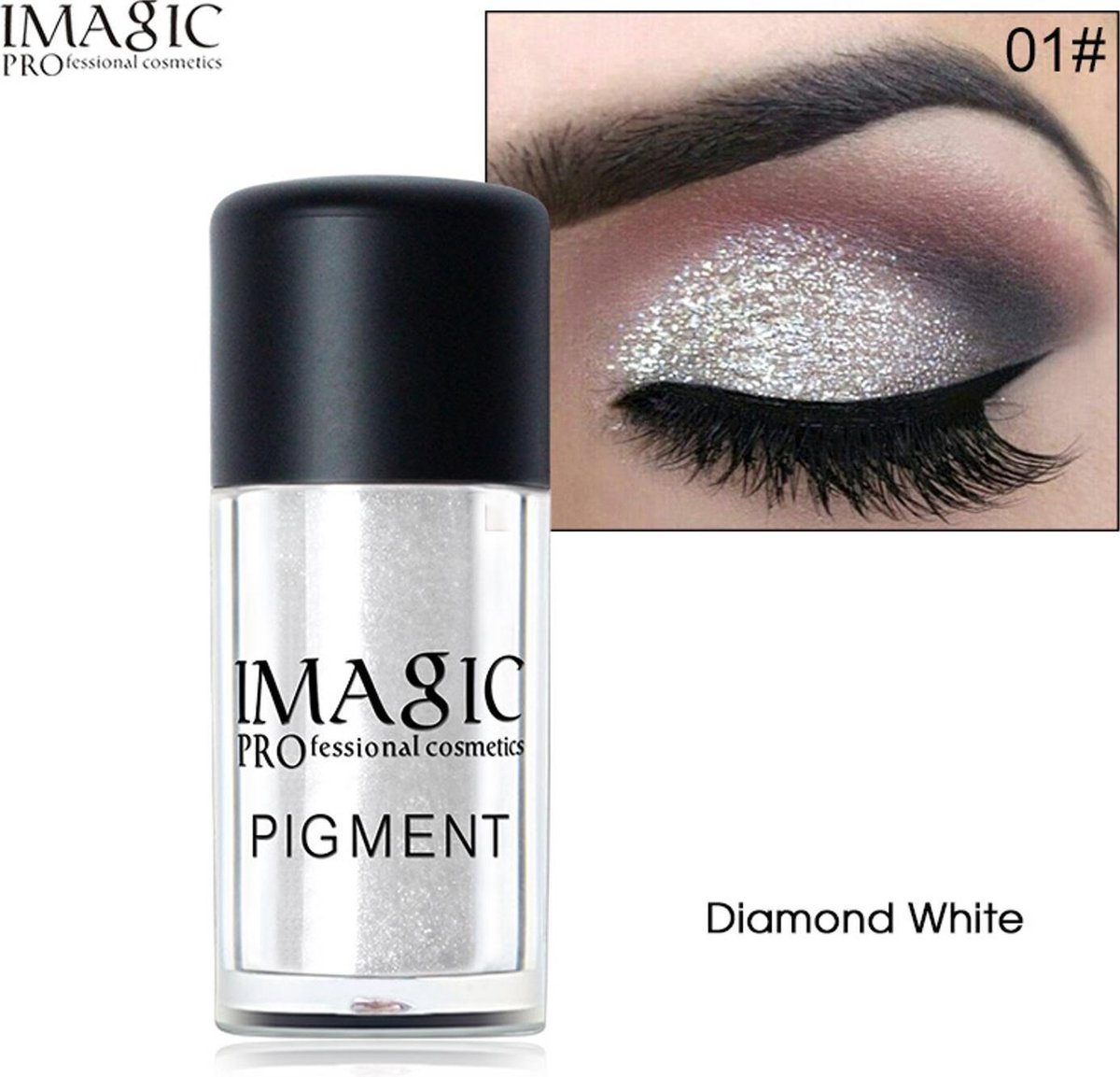Professionele Glitter Oogschaduw Poeder - Make-Up - Opmaken - Elemental GOods