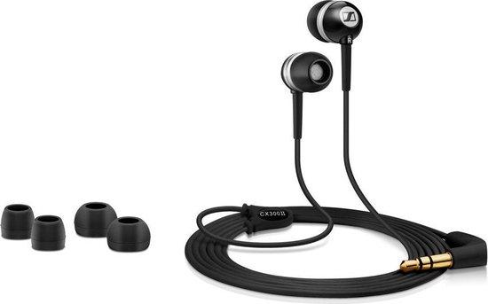 Sennheiser CX 300 II - In-ear oordopjes - Zwart