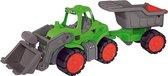 Power Worker Tractor plus Kiepwagen
