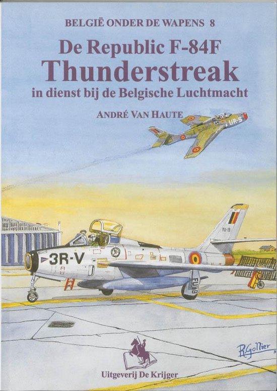 Afbeelding van De Thunderflash in dienst bij de Belgische luchtmacht