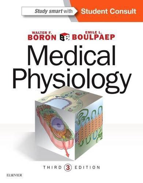 Boek cover Medical Physiology van Walter Boron (Hardcover)