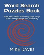 Word Search Puzzles Book