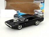 Dodge Charger R/T Jaar 1970 Fast and Furious 7 2015 zwart 1:24 Jada Toys