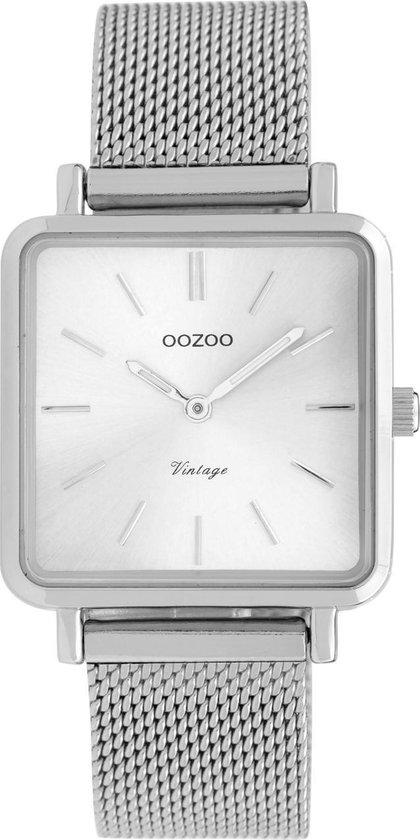 OOZOO Vintage Zilverkleurig horloge (29 mm) – Zilverkleurig