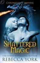 Omslag Shattered Magic
