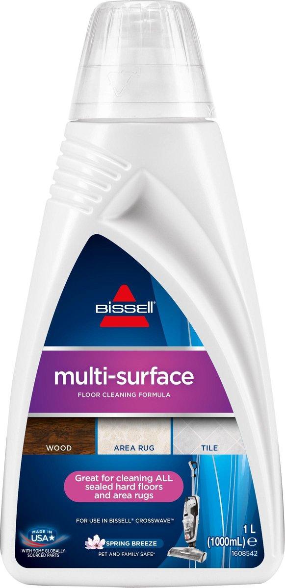 BISSELL MultiSurface - Reinigingsmiddel voor CrossWave/SpinWave - 1l