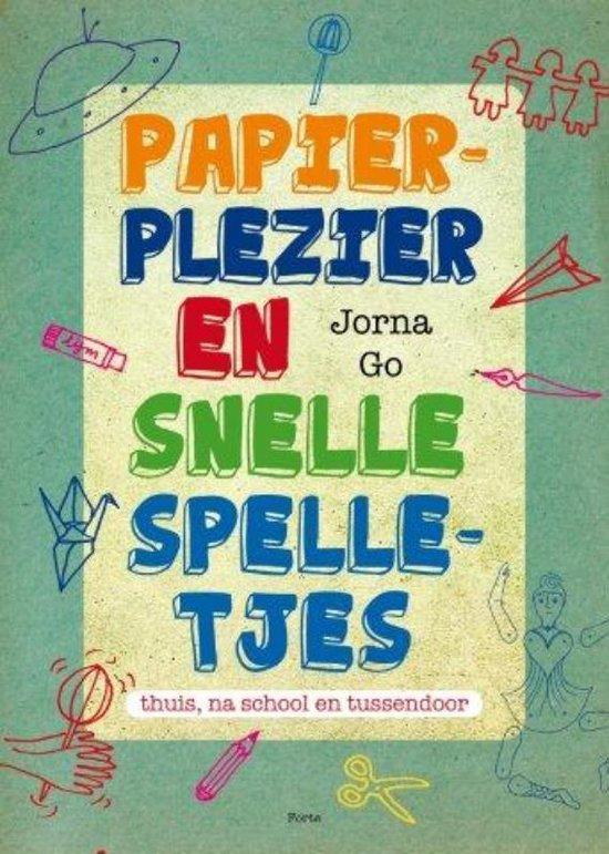 Papierplezier En Snelle Spelletjes - Jorna Go pdf epub