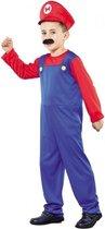 Loodgieter kostuum voor jongens 110-122 (4-6 jaar)