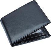 Zwarte Portemonnee – Portefeuille - Heren Billfold
