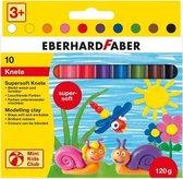 Boetseerklei Eberhard Faber 120grs 10 stuks assorti