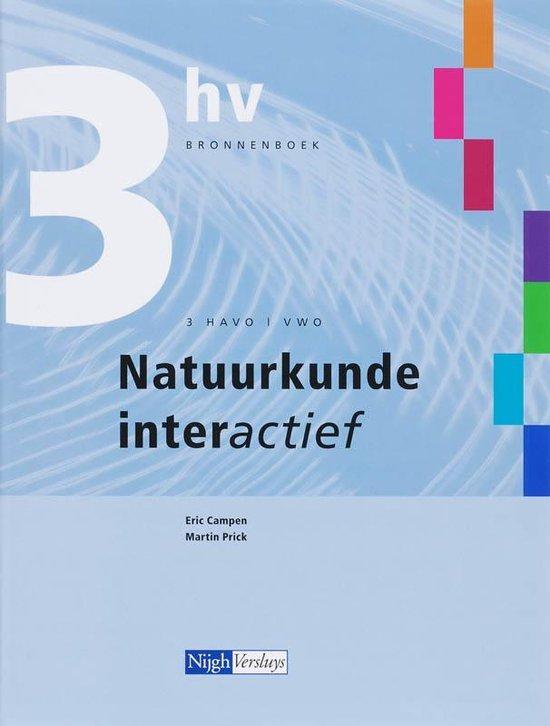 Natuurkunde interactief havo vwo 3e klas Bronnenboek - Eric Campen  