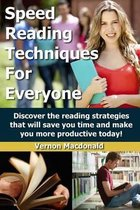 Speed Reading Techniques for Everyone!