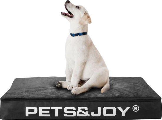 Pets & Joy Hondenkussen Dog Bed M 60 x 80 cm - Zwart