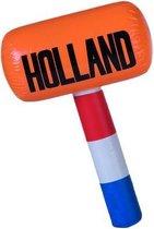 Nederland Opblaasbare Hamer Oranje/rood/wit/blauw 60 Cm