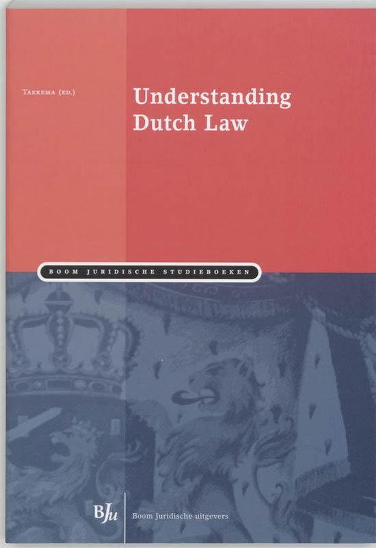 Afbeelding van Understanding Dutch Law