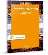 Boek cover Jaarverslaggeving Opgaven van P. Epe