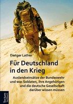 F r Deutschland in den Krieg