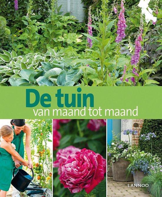 Cover van het boek 'De tuin van maand tot maand'
