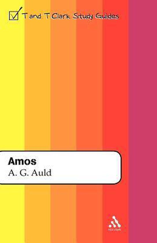Boek cover Amos van A. Graeme Auld (Paperback)