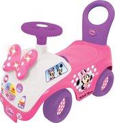 Minnie Mouse loop- en duwwagen met licht en geluid - Loopauto
