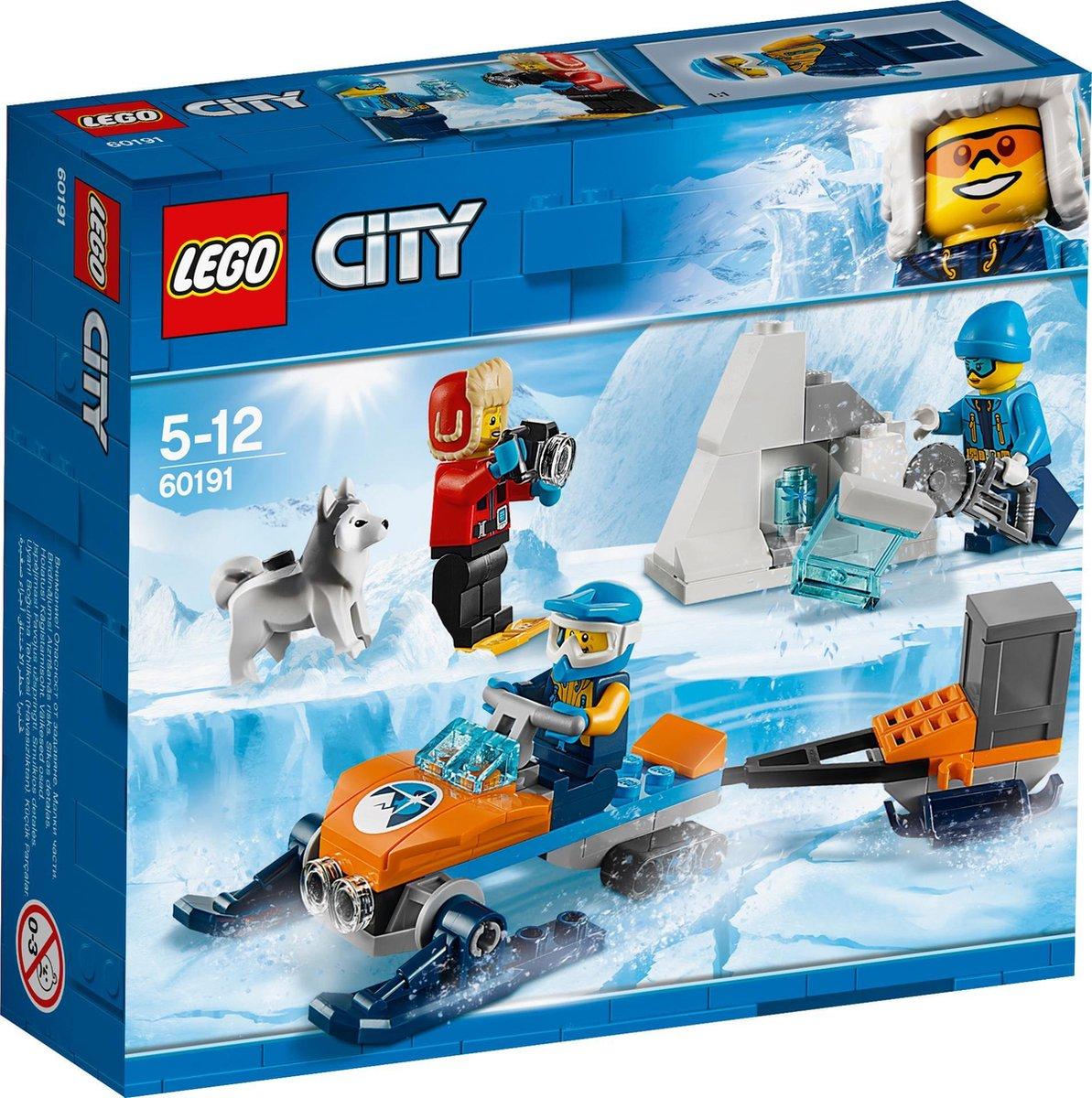 LEGO City 60191 - Poolonderzoekersteam