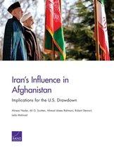 Boek cover Irans Influence in Afghanistan van Alireza Nader