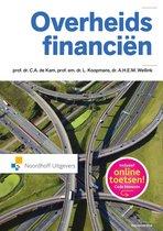 Boek cover Overheidsfinancien van C.A. de Kam (Hardcover)
