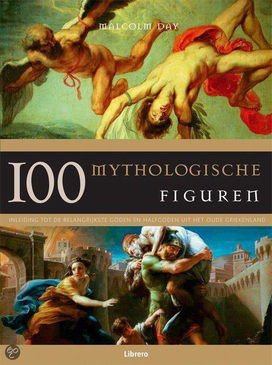 Cover van het boek '100 mythologische figuren'