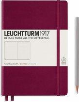 Leuchtturm1917 A5 Medium Notitieboek Dotted Port Red