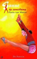 Boek cover Sanne Op Zomerkamp van Paula van Manen (Onbekend)