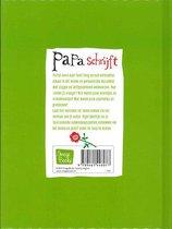 Papa schrijft - Invulboek met vragen en zelfgeschreven antwoorden - Groen -  15,5 x 20,5 x 1,5 cm