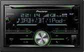 Pioneer FH-X840DAB Autoradio Dubbel din CD Tuner-USB-DAB+ - 4 x 50 W