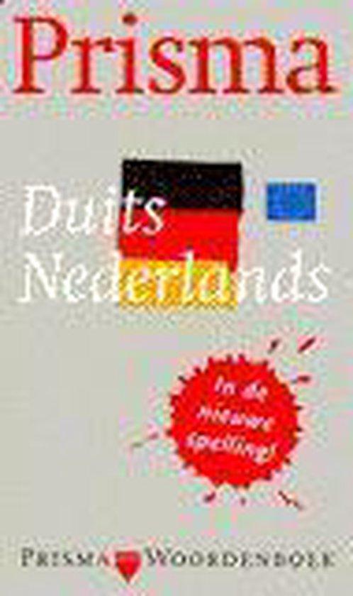 Boek cover PRISMA WOORDENBOEK DUITS-NED NWE SP van J.A.H. van Gemert (Paperback)
