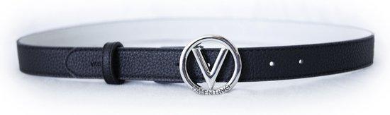 Valentino Round Kledingriem - Zwart - Maat M (110 cm)