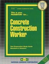 Concrete Construction Worker