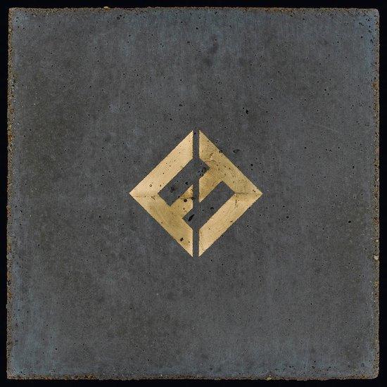 CD cover van Concrete and Gold van Foo Fighters