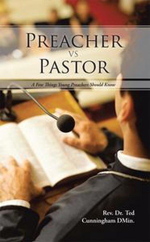 Boek cover Preacher Vs Pastor van Rev. Dr. Ted Cunningham DMin. (Onbekend)