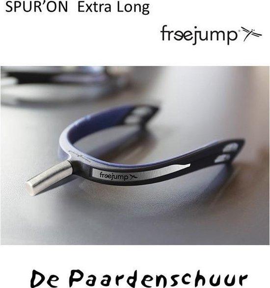 Freejump sporen Spur'one Extra lang Black/zwart