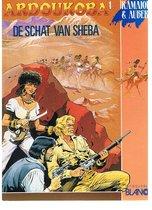 Ardoukoba 1 schat van sheba (stripboek)