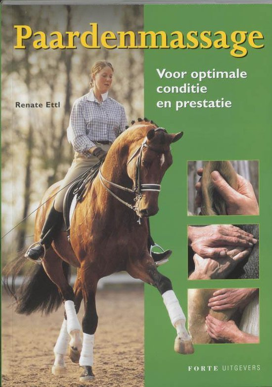 Cover van het boek 'Paardenmassage'
