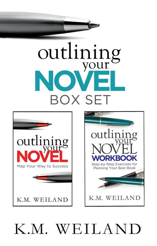 Boek cover Outlining Your Novel Box Set: How to Write Your Best Book van K.M. Weiland (Onbekend)
