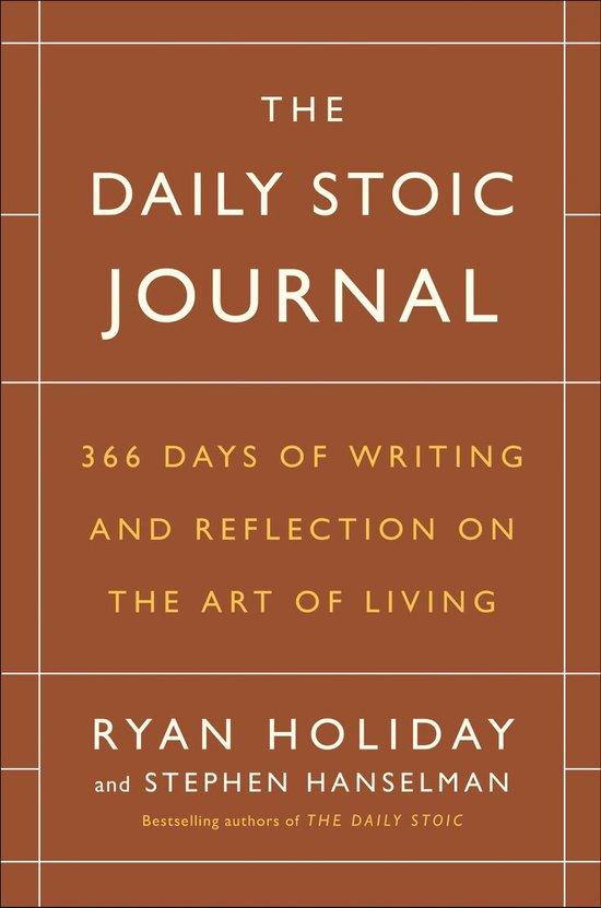 Boek cover The Daily Stoic Journal van Ryan Holiday (Hardcover)